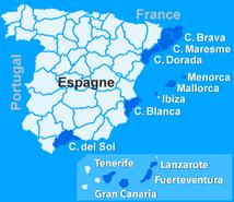 Location de villa en espagne