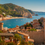 A scenic day in Tossa de Mar