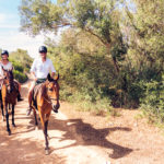 Horse riding around Lloret