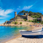 Visiting Tossa de Mar with children