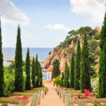The botanic gardens of Pinya de Rosa and Marimurtra