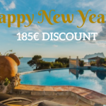 Happy New Year: for 8 days, enjoy a €185 KICK-OFF discount on your holiday villa in Spain!