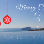 €250 SANTA Discount on a dream villa in Spain!