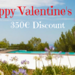 For 8 days, enjoy a €350 Valentine Discount on your dream villa in Spain!