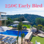 Book your 2019 holiday villa with a €250 Early Bird Discount!
