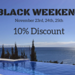 Black Weekend and Cyber Monday: Relaxing Vacation for less Money!