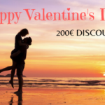 How to Amaze your Valentine? We will help out with 200€ Discount!
