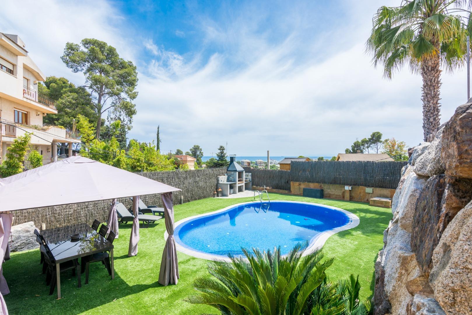 Villa Cranc,Santa Susanna,Costa Maresme #1