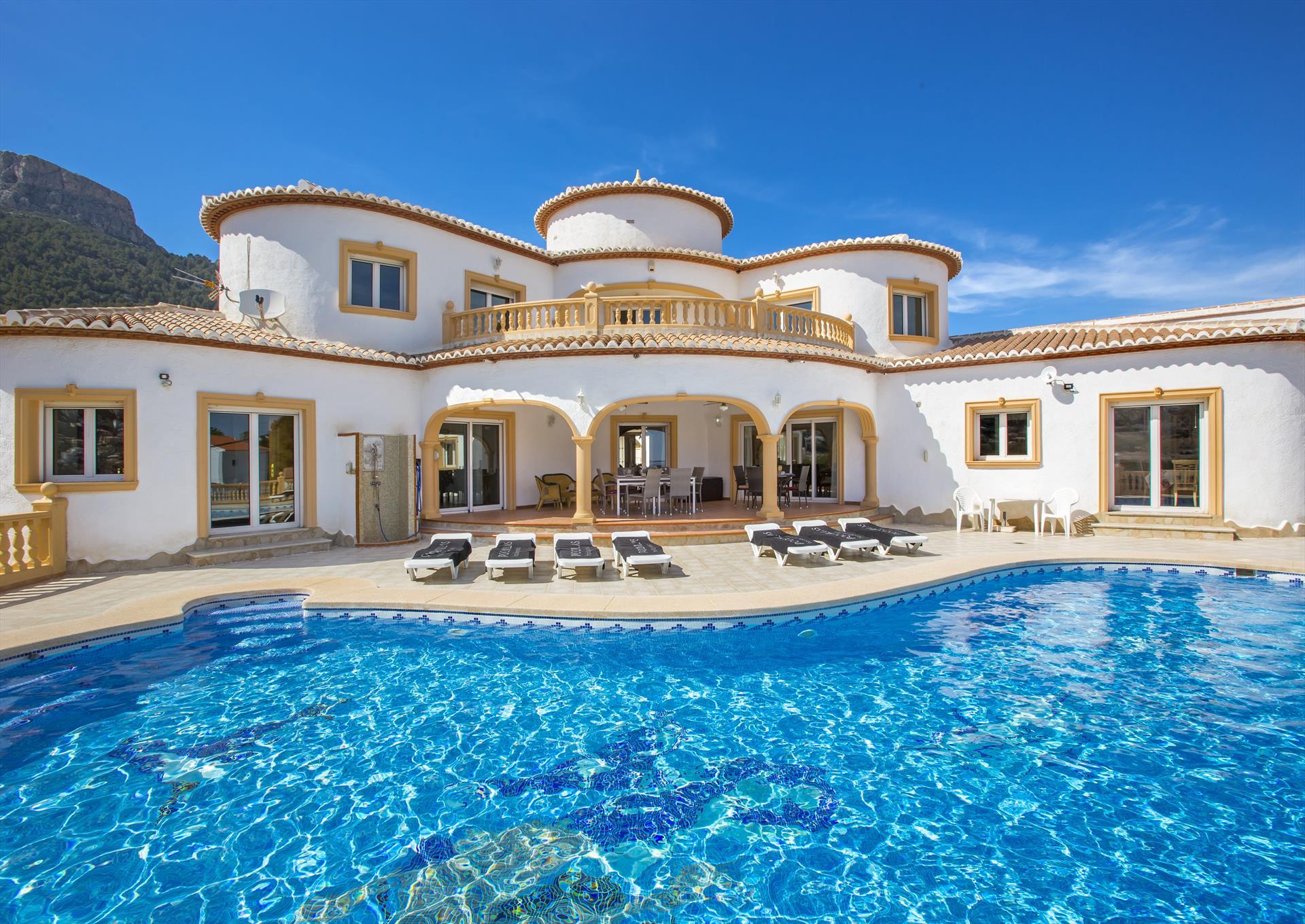 Villa Montresor,Calpe,Costa Blanca #1