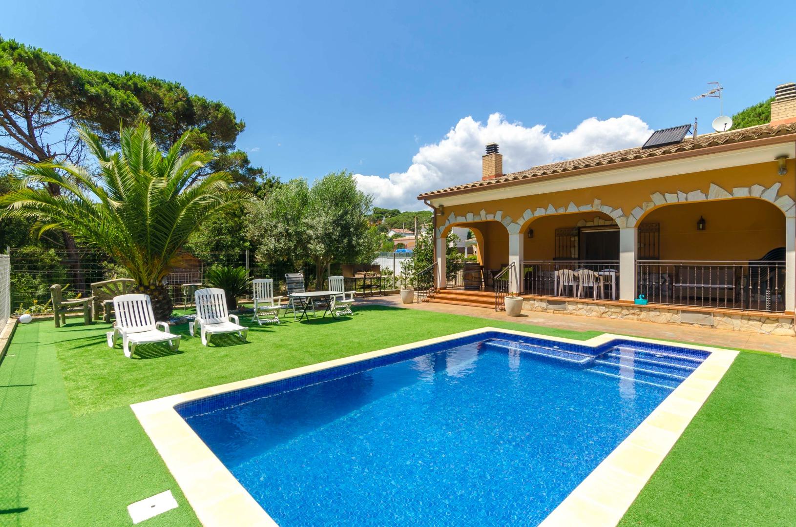Villa Arboc,Vidreres,Costa Brava #1