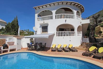 Villa Gilian,Moraira,Costa Blanca 1