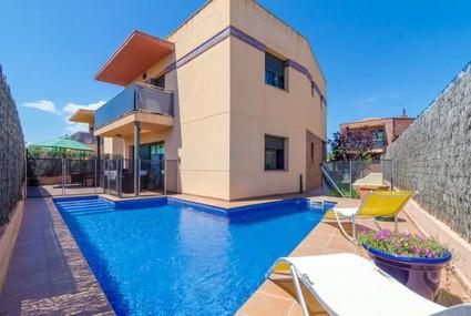 Villa Loewe,Lloret de Mar,Costa Brava 1