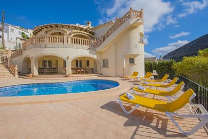 Villa Claudius,Moraira,Costa Blanca 1