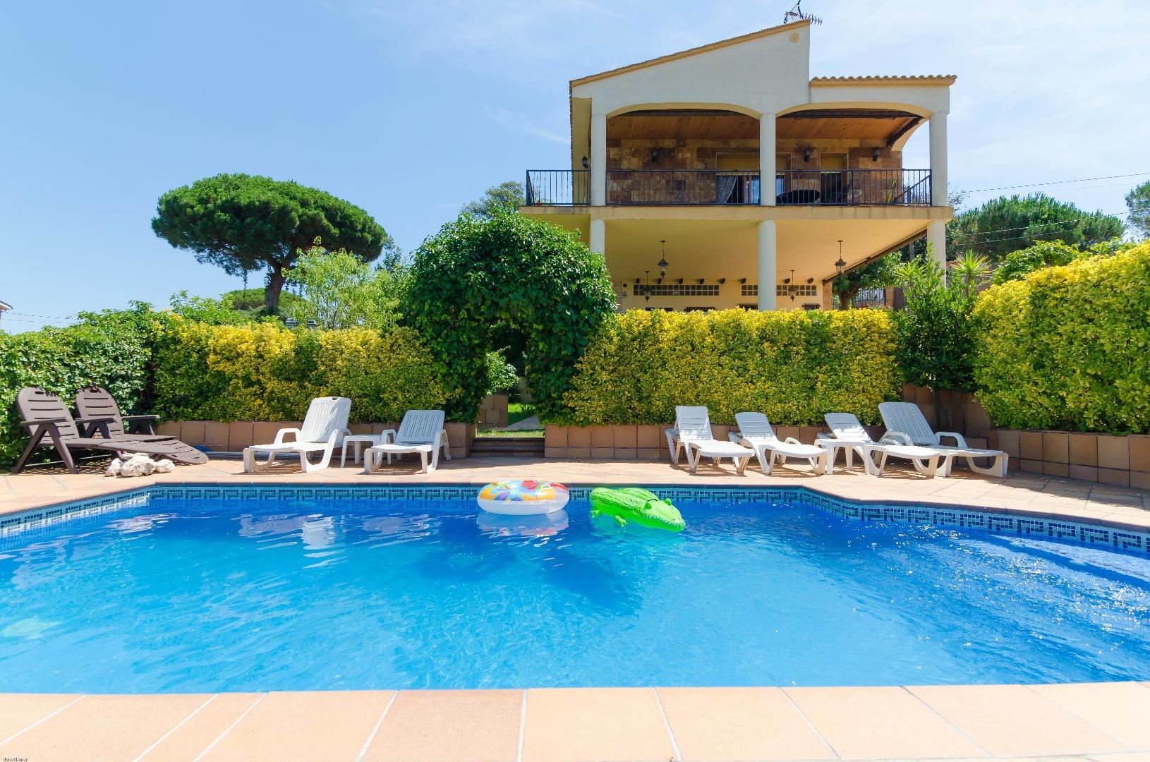 Villa Capriola 8,Vidreres,Costa Brava #1